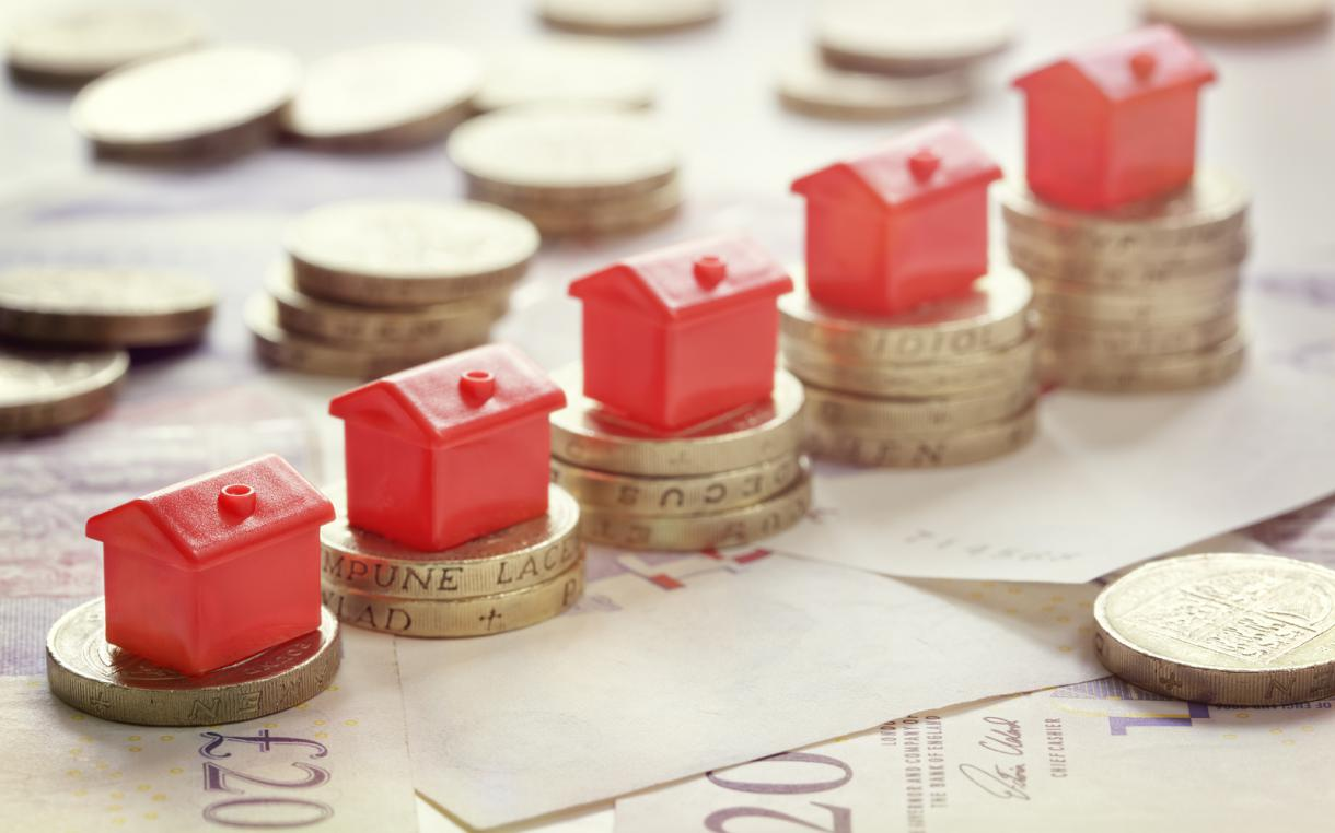 House prices increased 9.7% - average price £205,000!